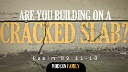 Are You Building on a Cracked Slab?