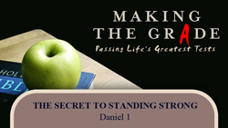 The Secret to Standing Strong