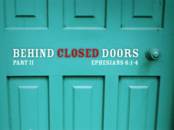 Behind Closed Doors - Part 2