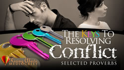 The Keys to Resolving Conflict