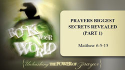 Prayers Biggest Secrets Revealed - Part 1