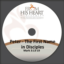Peter - The First Name in Disciples
