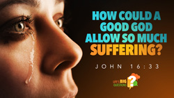 How Could a Good God Allow so Much Suffering?