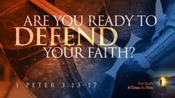 Are You Ready to Defend Your Faith?