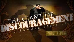 The Giant of Discouragement