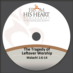 The Tragedy of Leftover Worship
