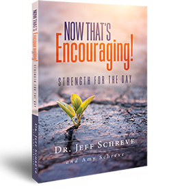 Now That's Encouraging: Strength for the Day - Book