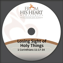Losing Sight of Holy Things